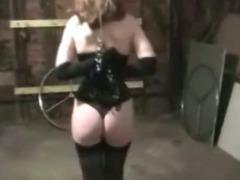 Slave Girl in Pain