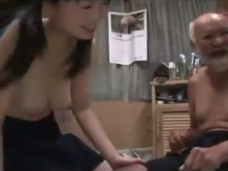 Porno Video of Schoolgirl In Skirt Getting Her Hairy Pussy Fucked By Old Man Creampie On The Mattress