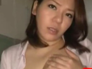 Porn Tube of Busty Office Lady Jerking Off Guy Cock With Her Tits Cum To Boobs