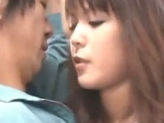 Sexy girl japanese honey nailed in public sex 38