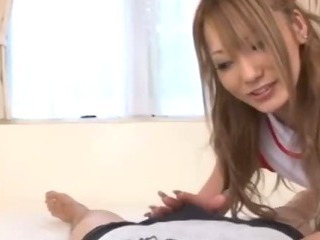 Porno Video of Cute Nurse Sena Aragaki Gives Her Patient A Total Physical That Leaves Him Blowing Hard