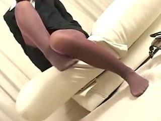 Porno Video of Pantyhose Footjob 2