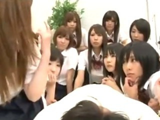 Porno Video of Large Group Of Japanese School Girls