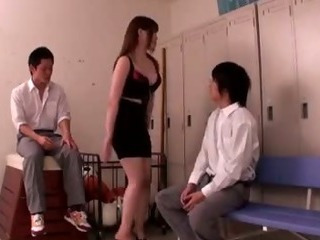 Porno Video of Big Boobs Momoka Nishina As A Teacher Fucking