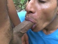 latin-gay-wanking-his-cock-in-the-woods