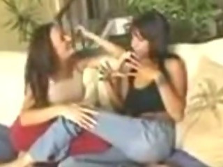 Porno Video of Dee & Michelle Lay: Hot Lesbian Action