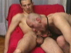 2 gays fuck, suck and barebacking