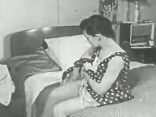 Porno Video of Vintage Erotica 1950s - Voyeur Fuck - Peeping Tom