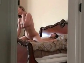 Porno Video of Blonde Riding Cock And Fucked Missionary On Hidden Camera