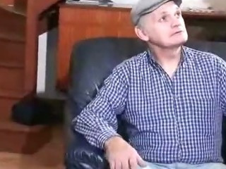 Porno Video of Grandpa Spies On Anal Sex Lovers