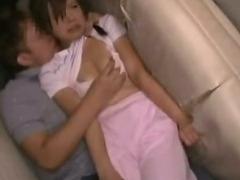 Shocked Teengirl groped in Backyard