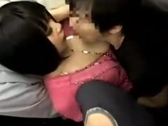 schoolgirl get grope bus 1