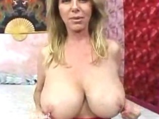 Porn Tube of Big Boobs Horny Mature
