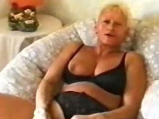 Porn Tube of British Granny Slut