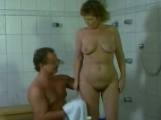 Porn Tube of German Mom Getting Fucked In The Bathroom