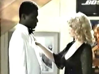 Porno Video of Retro Interracial Blonde Porn 1