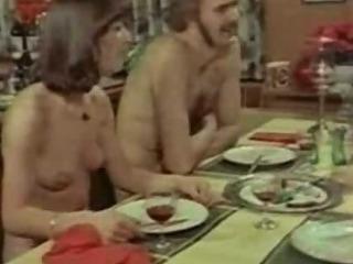 Porno Video of Retro Euro Lunch Fun