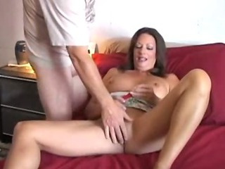 Porn Tube of Mature Amateur Gets Jizzed On