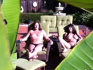 Porno Video of Spying On My Lesbian Neighboor