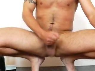 Porno Video of Queer Gent Nylon Panty-hose Fetish