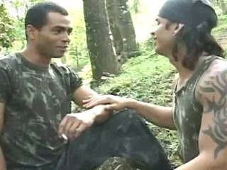 Porn Tube of Hot Sexy Military Guys Having Fun In Forest