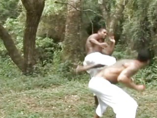 Porno Video of Muscle Guys Fucking In The Forest