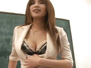 Porn Tube of Hot Busty Ai Kurosawa Dirty Teacher With Huge Tits!