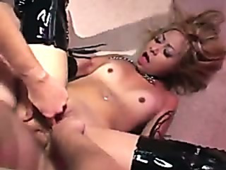 Porn Tube of Kat Anal In Boots