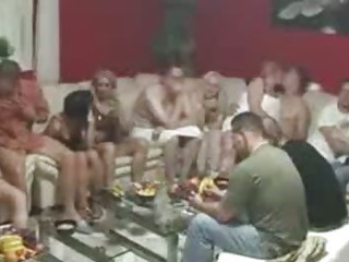 Porno Video of Mature Swinger Party