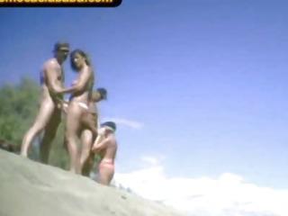 Porno Video of Swinger Nudity Beach