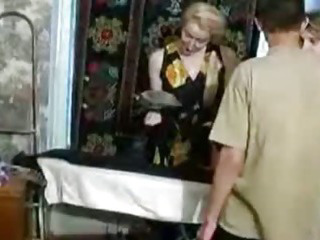 Porno Video of Naughty Mom With Two Young Guys