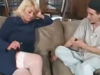 Porn Tube of Older Mommy And Younger Neighbor