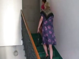 Sex Movie of Naughty Granny Takes Fresh Cock
