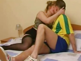 Porn Tube of Slutty Russian Step Mother