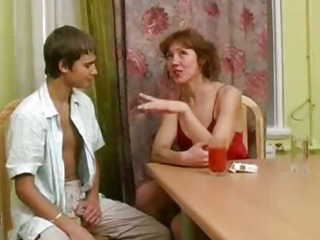 Porno Video of Unknown Beautyful Russian Mature Fucks Young Boy