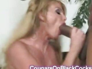 Porn Tube of Big Stacked Milf Fucked By Huge Black Dick Swallows The Cum