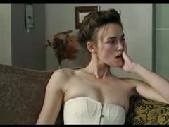 Keira Knightley tits in hot bondage scenes