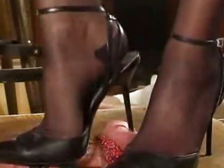 Porno Video of Slingback Milking Bdsm Bondage Slave Femdom Domination