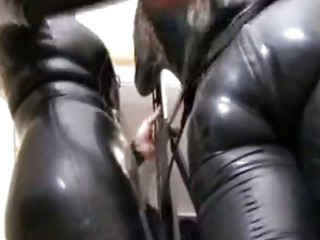Porn Tube of Rubber Smothering Bdsm Bondage Slave Femdom Domination