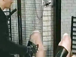 Porn Tube of Needles Through Her Pussylips Bdsm Bondage Slave Femdom Domination