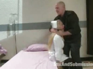 Porno Video of Maledom Bdsm Bondage  And Anal Submission Of Pervert Slave Nurse