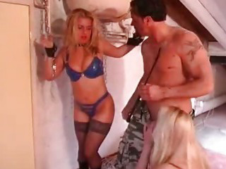 Porno Video of Busty Blonde Gets Tied In Bdsm Action