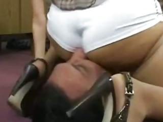 Porno Video of Cfnm Femdom Fetish Bitches Handjob And Cumshot