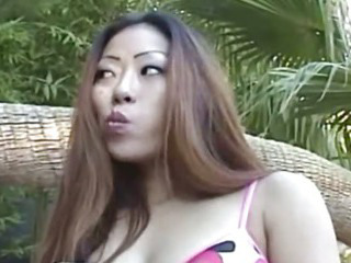 Porno Video of My Asian Wife Suck Me Near The Pool
