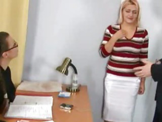 Porn Tube of Shocking Nude Job Interview For Busty Secretary