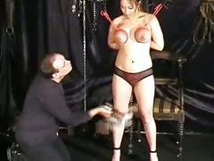 Tigers tit torment and extreme japanese bdsm movies of busty nipple punishments