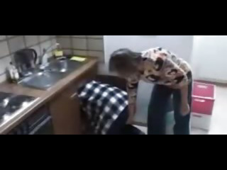 Porn Tube of Horny German Mother And Daughter Fuck The Plumber