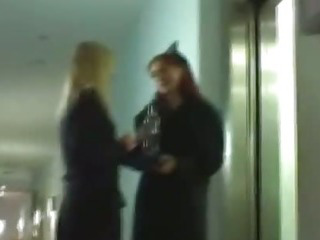 Porn Tube of Light Haired And Red Head Fest In Hotel