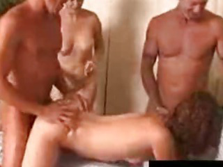 Porno Video of Swinger Party With Cum Swapping Girls