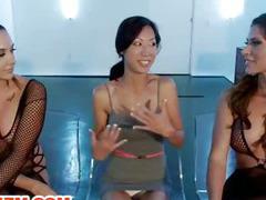 Lesbian Asian Electro Slave Tia Ling